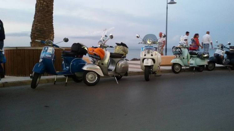 Il Vespa Club Valdera al Coast to Coast 2015