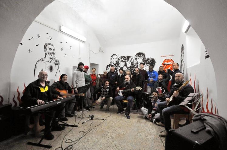 Il gruppo di musica del carcere di Volterra